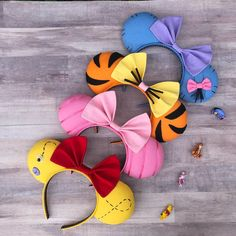 - You are in the right place about healthy dinner recipes Here we offer you the most beautiful pictu - Disney Diy, Diy Disney Ears, Disney Crafts, Walt Disney, Winnie The Pooh Ears, Winnie The Pooh Costume, Disney Ears Headband, Disney Headbands, Ear Headbands