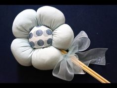How to Make 3D Fabric Flower Fun and Easy Fabric Flower Tutorial I Crafts