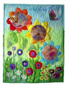sun flower quilt