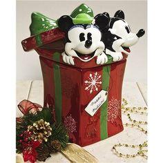 Disney Holiday Cookie Jar - Save 50%
