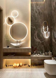 Modern Luxury Bathroom, Bathroom Design Luxury, Bathroom Layout, Modern Bathroom Design, Wc Design, Toilet Design, Bath Design, Home Room Design, Home Interior Design