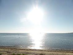Sol over Isefjorden