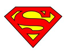 Another Superman Logo which works for his cousin Supergirl, as the family's code of arms from the House of Zor-El's from ClipArt Best. Superman Clipart, Logo Superman, Superman Cakes, Superhero Backdrop, Superhero Party, Superhero Logos, Superman Birthday, Superman Party, Father's Day