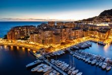 Photo about Aerial View on Fontvieille and Monaco Harbor with Luxury Yachts, French Riviera. Image of blue, france, monte - 27861222 Atlantis Bahamas, Monte Carlo Monaco, Montreal, Vancouver, Cruise Offers, Cruise Destinations, Journey, Paradise Island, Group Tours