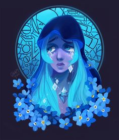 such a pretty design, want to see more of blue diamond pls