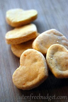 Sweet Potato Toddler Crackers (GF, Nut Free, Dairy Free, Soy Free, Corn Free!)...these are for toddlers but this is free from all the crap I'm allergic to!