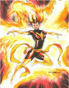 Dark Phoenix by Yildiray Cinar...wish I had this!