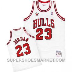 9750918117e ... Buy Black Friday Deals Michael Jordan Mitchell Ness Chicago Bulls 1998  All-Star White Jersey ...