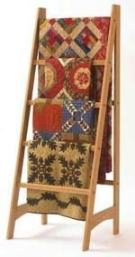31-DP-00596 - Quilt Ladder Downloadable Woodworking Plan PDF
