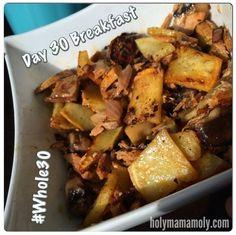 holymamamoly - Whole30 Round 2: FULL RECAP (Days 0 - 31) Whole30 Meal Ideas - BREAKFAST