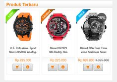 Jasa Website Toko Online I Jasa Pembuatan website Bandung Casio Watch, Stainless Steel, Website