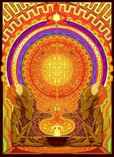 Shaman Art - Image by Gnomosapien.  www.facebook.com/ayaexp