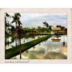 Sardine Restaurant Bali.... Truly amazing scenery!
