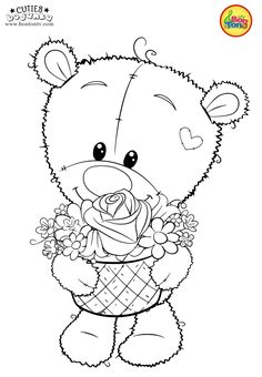 Cuties Coloring Pages for Kids - Free Preschool Printables - Slatkice Bojanke - Cute Animal Coloring Books by BonTon TV Preschool Activity Sheets, Preschool Coloring Pages, Cute Coloring Pages, Free Preschool, Preschool Printables, Animal Coloring Pages, Adult Coloring Pages, Coloring Books, Free Printable Coloring Sheets