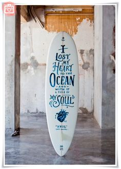 Foto del día: Tabla de surf