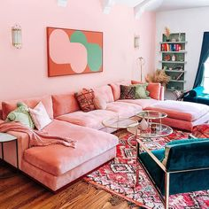 Custom Furniture and Modern Home Decor Home Living Room, Apartment Living, Living Room Decor, Retro Apartment, Kitchen Living, Room Kitchen, Room Ideas Bedroom, Bedroom Decor, Aesthetic Room Decor