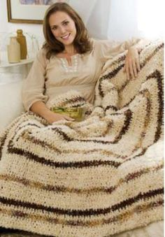"""Textured and Tonal Throw ~ 55"""" square ~ FREE CROCHET pattern ~ easy ~ center-out afghan"""