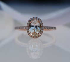 reserved  1ct oval champagne sapphire ring by EidelPrecious