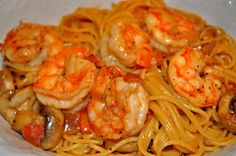 Pioneer woman's Cajun Shrimp Pasta( I will use coconut cream to make this dairy free.). Can't wait to try this!
