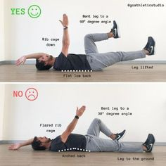 According to statistics, about 31 million Americans experience lower back pain at any given time. Luckily, this pain is usually caused by a spasm in a certain muscle and can be easily reduced at home with the help of some stretching exercises. Relieve Back Pain, Leg Lifts, Stretching Exercises, Yoga Videos, Rib Cage, Facon, Easy Workouts, Pilates, Back Pain