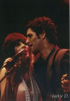 Stevie & Lindsey doing what we love to see them doing