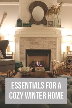 Essentials For A Cozy Winter Home