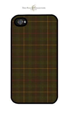 Chocolate Tartan iphone Cover – The Fuller Collection