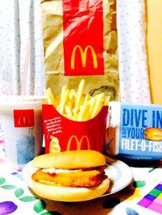 Fatty Sunday! #SundayNight #McDonalds #Food #FoodPorn #Fatty