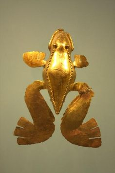Picture of Museo del Oro (Colombia): Golden frog