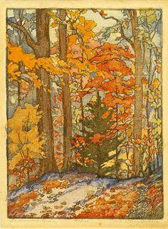 Fabulous Fall painting....bumblebutton