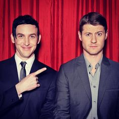 How's this for an odd couple? #Gotham's Penguin & Gordon are back tonight. @robinlordtaylor @ben_mckenzie
