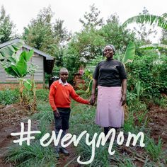 We look forward to the day ‪#‎everymom‬ has access to safe water. With pleasure, we share the story of Sabina who is a mother and a farmer in Kenya. Through Water.org she has a rain catchment tank on her property, a solution that has changed the way of life for her family. | Read her story: http://bit.ly/1b6DFtO | #everymom