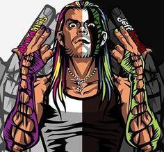 jeff hardy is one of my favorite pro-wrestlers. Raw Wrestling, Wrestling Posters, Wrestling Superstars, Wrestling Divas, Wcw Wrestlers, Wwe Jeff Hardy, Aj Styles Wwe, Wwe Raw And Smackdown, Bebe Love