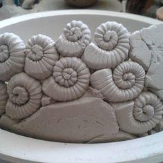 #ceramic #ceramica #pottery #potterybowl #clay #keramikschalen #töpfern #dekofürdengarten #handmade