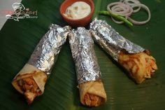 Chicken Kathi Roll (Kolkata) Recipe - Cook Safari