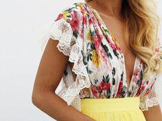 VESTIDO NOVELLA - Rocío Osorno - Diseñadora de moda - Sevilla #dressup #vestidofiesta #veranito #summer #promdress #flowers #flores
