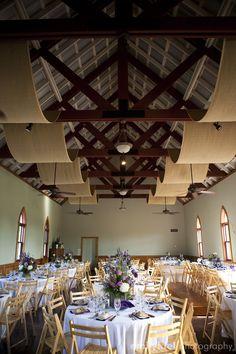burlap and purple wedding reception {lindy and ben wedding} emilykiel photography