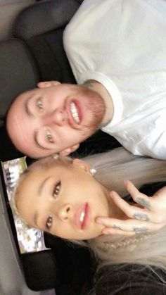 Ariana and Mac 😍 Mac Miller And Ariana Grande, Ariana Grande Mac, Ariana Grande Pictures, Selfies, Bae, Star Wars, Dangerous Woman, Best Couple, Couple Goals