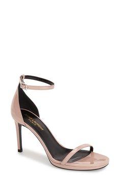 Saint Laurent 'Jane' Ankle Strap Sandal (Women) available at #Nordstrom