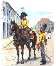 Prussia; Brandenburg Cuirassier Regiment. Mounted 1806 Dismounted 1809 by R.Knotel