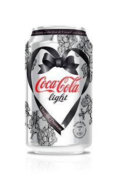 Coca-Cola Light St. Valentine Design by Chantal Thomass