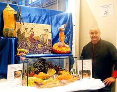 « Les poissons de lacs ou d'étangs ». Tel était, ce week-end, à Paris, le thème de la 4e édition du championnat de France artistique de sculpture sur fruits et légumes. Le cuisinier landernéen Loïc Martius l'a emporté devant le Concarnois Pascal Cano.