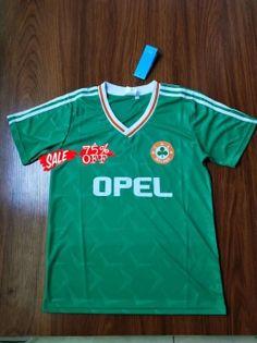 606b985e6 1990-1992 Cheap Jersey Ireland Home Replica Soccer Shirt 1990-1992 Cheap  Jersey Ireland