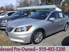 2011 Honda Accord EX Sedan AT #BoulevardAuto #ChapelHill #AutoSales