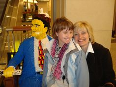 Taylor visited LEGOLAND on a trip to #Chicago.