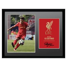 Official Liverpool FC Picture Coutinho 16 x 12 Liverpool Fc Gifts, Liverpool Fans, Uk Football, Baseball Cards, Pictures, British Football, Photos, Grimm