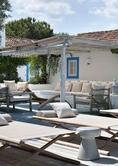 Estate en plein air. #Dalani #Mediterraneo #Living