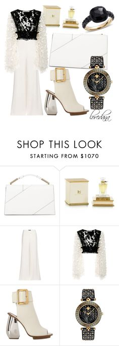 """""""Untitled #41"""" by lore8dana ❤ liked on Polyvore featuring Jason Wu, Henry Jacques, Ralph Lauren, Rodarte, Bally, Versace and Pomellato"""