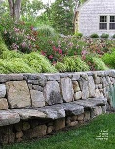 retaining wall in your garden or yard