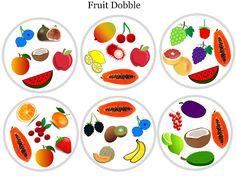 Podgląd miniatur o element napędowy Shape Matching, Matching Cards, Class Games, Math Games, Preschool Worksheets, Kindergarten Activities, Game Fruit, Fruits For Kids, Games
